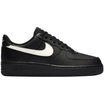 Shoes Men Low top trainers Nike Air Force 1 07 Black