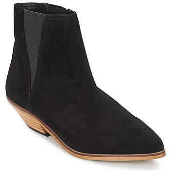 Shoes Women Mid boots Shellys London CHAN Black