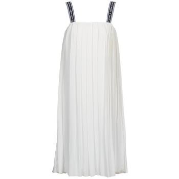 Clothing Women Long Dresses American Retro VERO LONG White