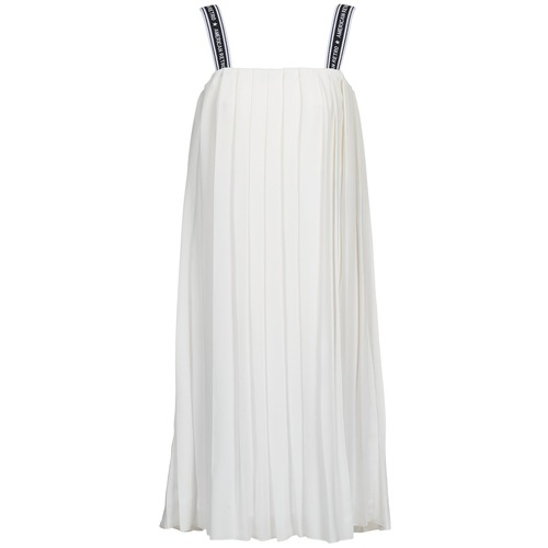 Clothing Women Long Dresses American Retro VERO LONG White