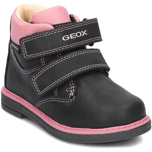 Shoes Children Mid boots Geox Baby Glimmer Black