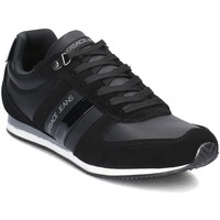 Shoes Men Low top trainers Versace Jeans Fondo Running Black