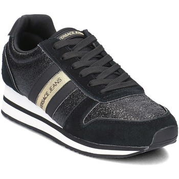 Shoes Women Low top trainers Versace Jeans Fondo Stella Black