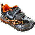 Shoes Children Low top trainers Geox J Android BB Grey/Orange