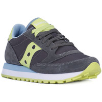 Shoes Women Low top trainers Saucony JAZZ CHARCOAL GREEN Grigio