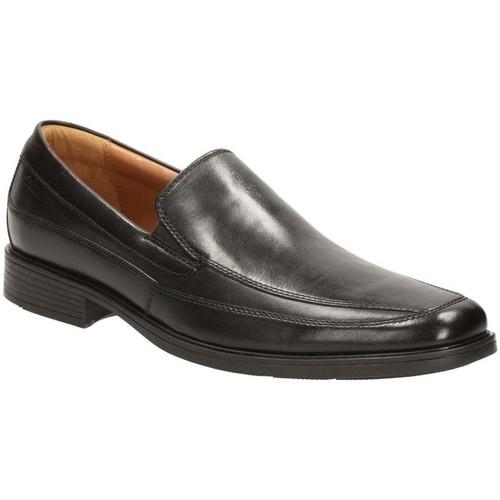 Shoes Men Loafers Clarks Tilden Free Mens Leather Loafers black