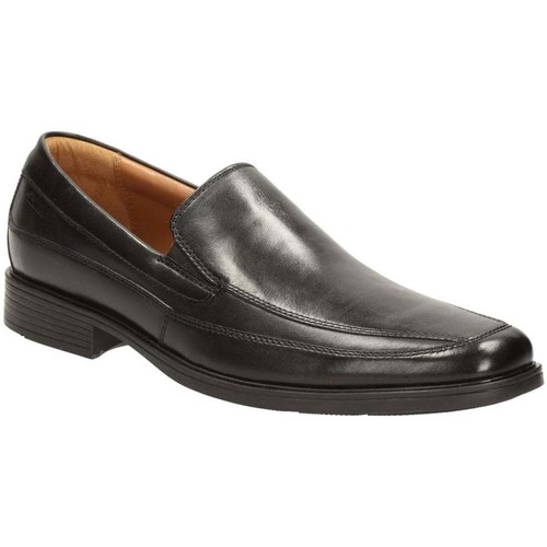 Shoes Men Loafers Clarks Tilden Free Mens Wide Leather Loafers black