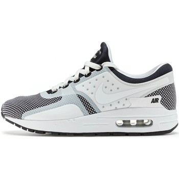 Shoes Men Low top trainers Nike Air Max Zero Essential Trainers in Black & Wolf Grey & White 87 White