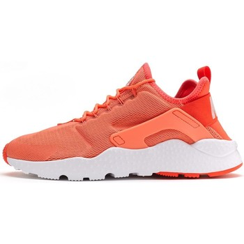 Shoes Women Low top trainers Nike Air Huarache Ultra Women Trainers in Bright Mango Orange & Whit Orange