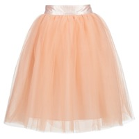 Clothing Women Skirts Betty London I-LOVA Pink / Beige