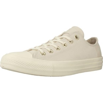 Shoes Women Low top trainers Converse CHUCK TAYLOR ALL STAR - OX Beige