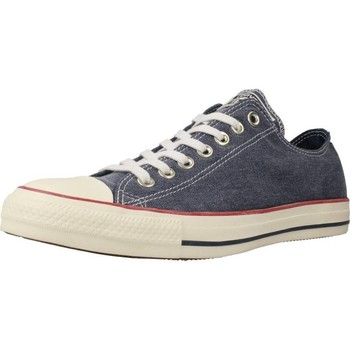 Shoes Men Low top trainers Converse CTAS OX Blue