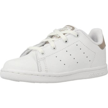 Shoes Children Low top trainers adidas Originals STAN SMITH I White