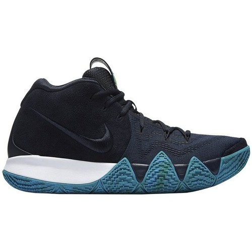 Shoes Men Hi top trainers Nike Kyrie 4 Navy blue