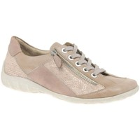 Shoes Women Low top trainers Remonte Dorndorf Screen Womens Casual Lace Up Shoes pink