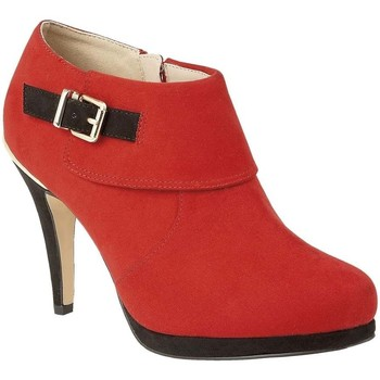 Shoes Women Shoe boots Lotus Vollmer Womens High Cut Court Shoes red