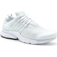 Shoes Men Trainers Nike Air Presto Essential Running Trainers in White 848187 100 White