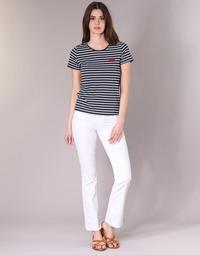 Clothing Women bootcut jeans Yurban IALOLAO White