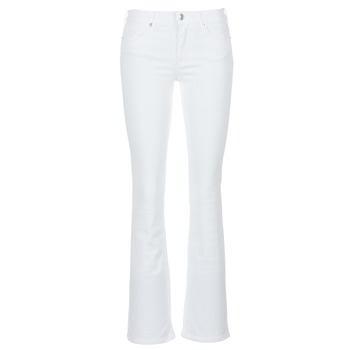 Clothing Women Bootcut jeans Moony Mood IALOLAO White