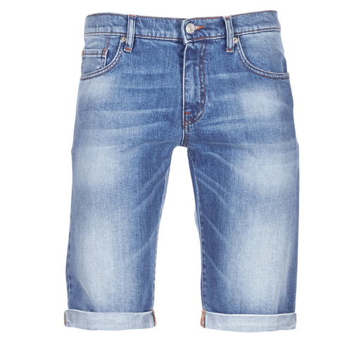 Clothing Men Shorts / Bermudas Casual Attitude IXOLAK Blue / Clear