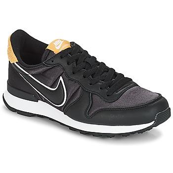 Shoes Women Low top trainers Nike INTERNATIONALIST HEAT Black / Gold