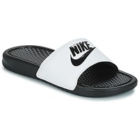 Shoes Men Sliders Nike BENASSI JUST DO IT White / Black