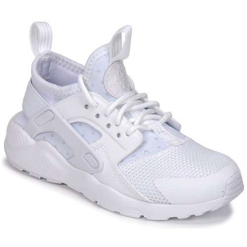 the best attitude 96e3a fba72 Shoes Children Low top trainers Nike HUARACHE RUN ULTRA PRE-SCHOOL White