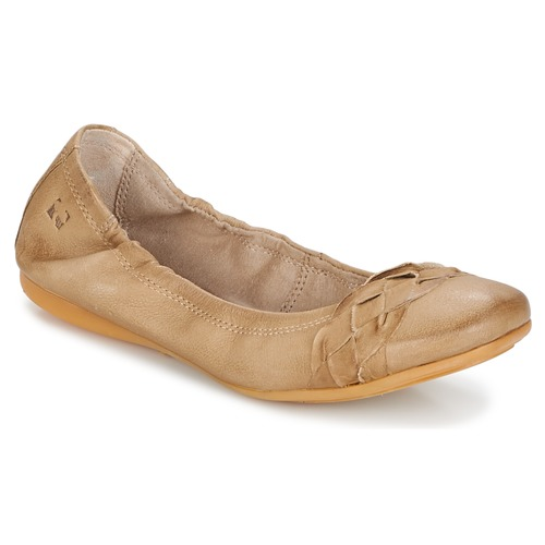 Shoes Women Flat shoes Dream in Green TAVERNI Beige
