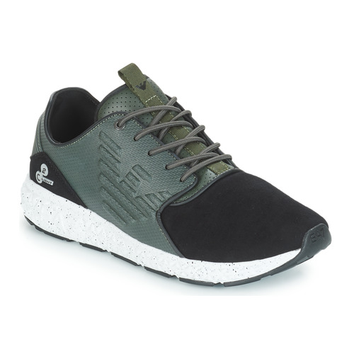 Shoes Low top trainers Emporio Armani EA7 SPIRIT C2 LIGHT WINTERIZED Green / Forest