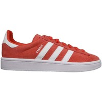 Shoes Women Low top trainers adidas Originals Campus red