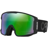 Shoe accessories Men Sports accessories Oakley Men's Line Miner Prizm Snow Goggles, green