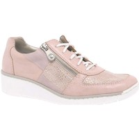 Shoes Women Low top trainers Rieker Camilla Womens Casual Sports Shoes pink
