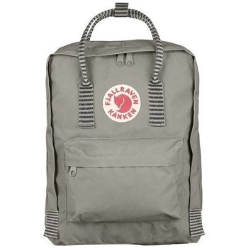 Bags Handbags Fjallraven Kanken Fog Striped Grey