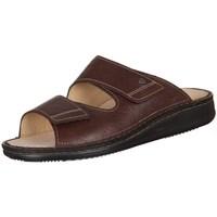 Shoes Men Mules Finn Comfort Riad Braun Karbo Brown