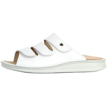 Shoes Women Mules Finn Comfort Korfu Weiss Nappa White