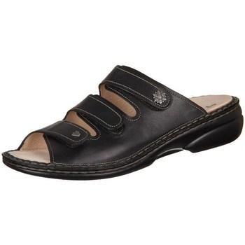 Shoes Women Mules Finn Comfort Menorcasoft Nappaseda Black