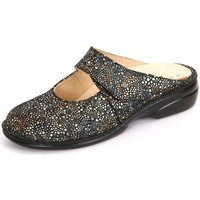 Shoes Women Clogs Finn Comfort Stanford Multi Miles Black-Silver