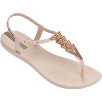 Shoes Women Flip flops Ipanema Charm II Sandals in Blush 81932 Beige