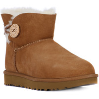 Shoes Women Snow boots UGG MINI BAILEY BUTTON II CHESTNUT Marrone
