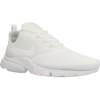 Shoes Men Low top trainers Nike PRESTO FLY White
