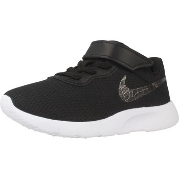 Shoes Girl Low top trainers Nike TANJUN (PSV) Black