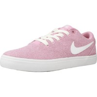 Shoes Women Low top trainers Nike WMNS  SB CHECK SOLAR CVS Pink