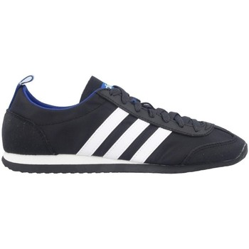Shoes Men Low top trainers adidas Originals Neo VS Jog Black Black