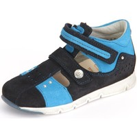 Shoes Boy Low top trainers Däumling Eddie Ozean Turino Blue-Black