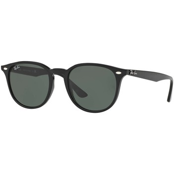 Watches Men Sunglasses Ray-ban Men's Square Injected Sunglasses, Black black