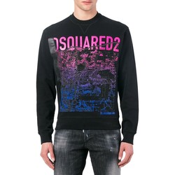 Clothing Men sweaters Dsquared - Men's Sweatshirt S74GU0217 Noir