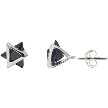 Watches Women Earrings Fashionvictime Earrings For Women By  - Silver 925 Jewel Noir