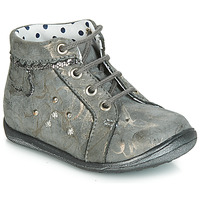 Shoes Girl Hi top trainers Catimini FANETTE Grey