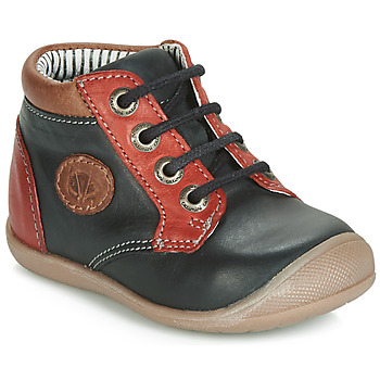 Shoes Boy Hi top trainers Catimini RAYMOND Black / Red
