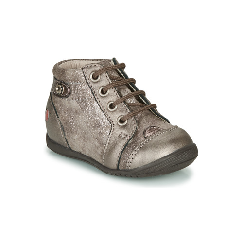 Shoes Girl Hi top trainers GBB NICOLE Vtc / Taupe / Kezia
